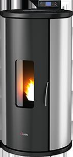 Cadel SFERA 3 Zilver pelletkachel