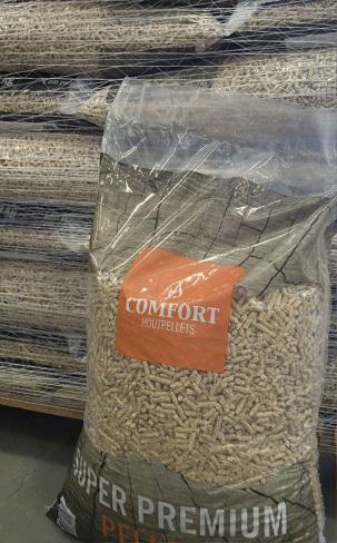 Comfort-Pellets Zak 15 Kg Hout pellets EN plus A1